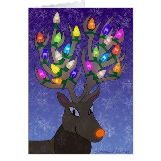 Rudolf Christmas Card