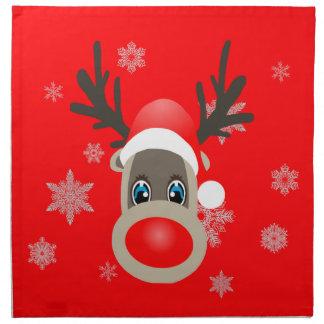 Rudolf - Christmas reindeer Napkin