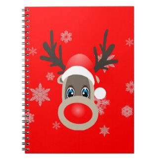 Rudolf - Christmas reindeer Notebook