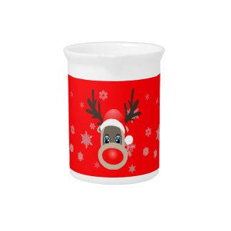 Rudolf - Christmas reindeer Pitcher
