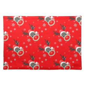 Rudolf - Christmas reindeer Placemat