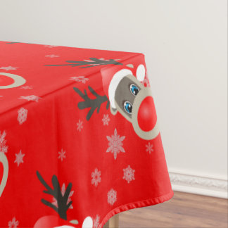 Rudolf - Christmas reindeer Tablecloth