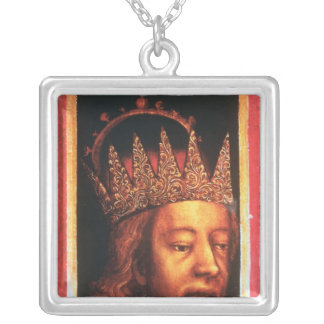 Rudolf IV, Emperor of Austria and Tyrol , c.1360 Silver Plated Necklace