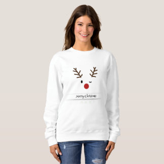 Rudolf Merry Christmas Sweatshirt