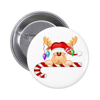 Rudolph Candy Cane Pins