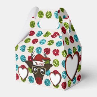 Rudolph CHRISTMAS FAVOR BOXES