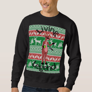 "Rudolph ""Living Legend"" Ugly Sweater"