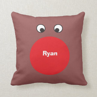 Rudolph Personalized Pillow Cushion
