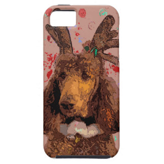 RUDOLPH POODLE iPhone 5/5S COVERS