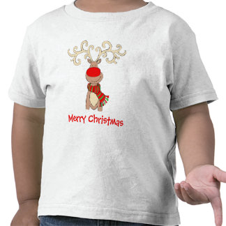 Rudolph red-nosed reindeer kid s snow t-shirt