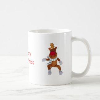 Rudolph Red Nosed Reindeer - Merry Christmas Coffee Mug