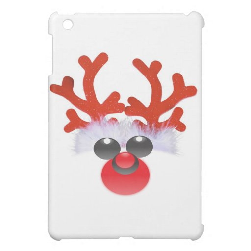 RUDOLPH REINDEER HOLIDAY PRINT COVER FOR THE iPad MINI