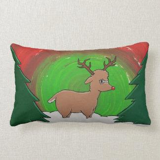 Rudolph Reindeer Pillow