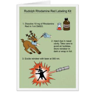Rudolph Rhodamine Kit Card