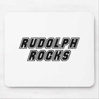 Rudolph Rocks Mouse Pad