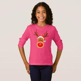 Rudolph Santa Kid T-Shirt Clothing