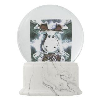 Rudolph Snow Globe