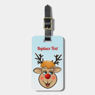 Rudolph - The Most Famous Reindeer Of All Luggage Tag