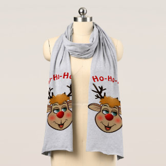 Rudolph - The Most Famous Reindeer Of All Scarf