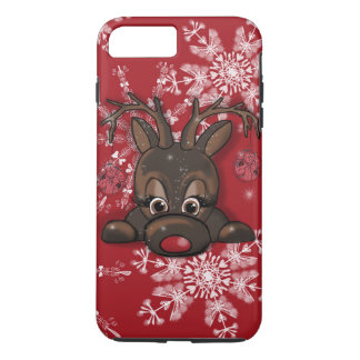 Rudolph the red nose reindeer snowflake phone case