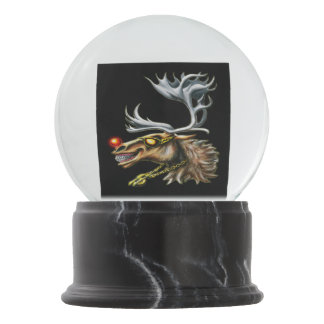 Rudolph the Red-Nosed Pimpdeer Snow Globe