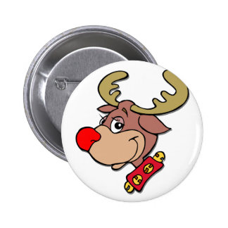 Rudolph the Red Nosed Reindeer Button