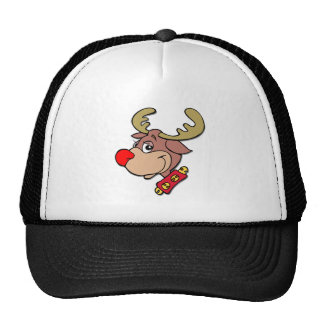 Rudolph the Red Nosed Reindeer Mesh Hats