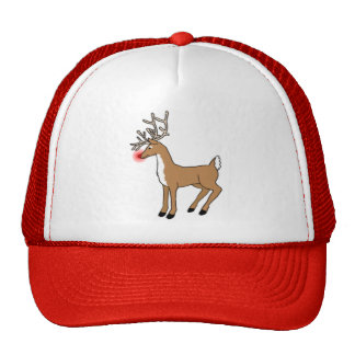 Rudolph The Red Nosed Reindeer Hat