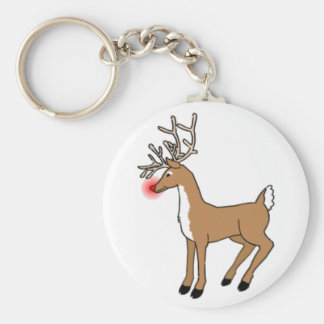 Rudolph The Red Nosed Reindeer Key Chain