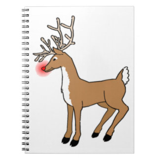 Rudolph The Red Nosed Reindeer Notebook