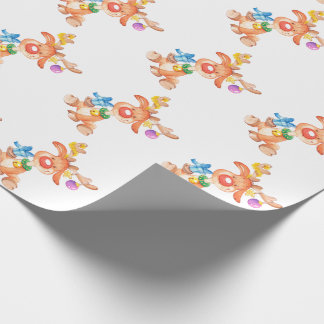 Rudolph the Rednose Reindeer Wrapping Paper