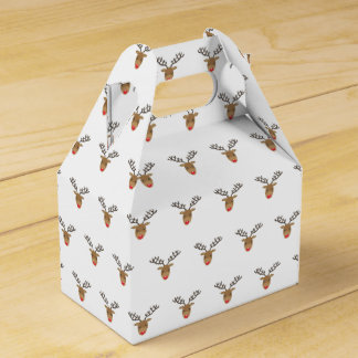 Rudolph The Reindeer Favour Box