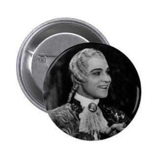 Rudolph Valentino 6 Cm Round Badge