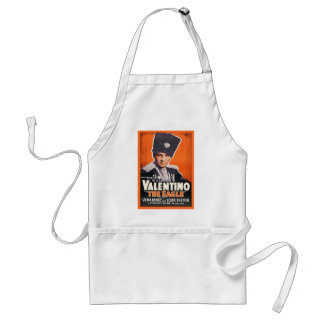 Rudolph Valentino Poster Standard Apron