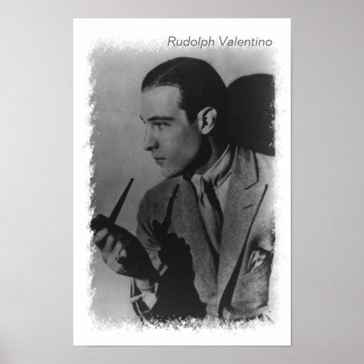 Rudolph Valentino vintage photo Poster