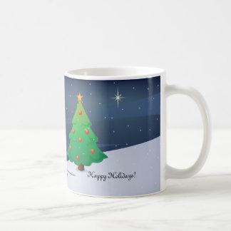 Rudolph with Christmas lights Mug