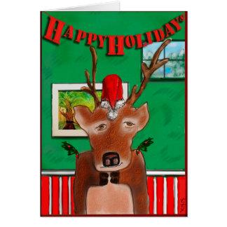 Rudolph's 3rd Cousin, Glen Card