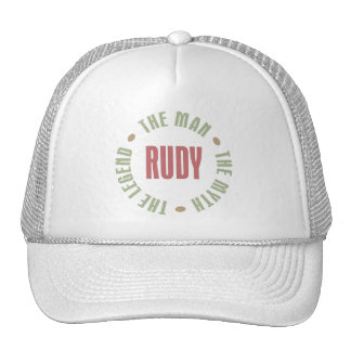 Rudy the Man the Myth the Legend Trucker Hats