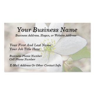 Rue Anemone - Thalictrum thalictroides Business Card