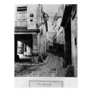 Rue Chanoinesse, from rue des Chantres, Paris Postcard