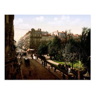 Rue d'Alsace-Lorraine Toulouse France Postcard