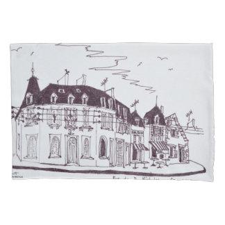 Rue De D. Nicholas | Concarneau, Finistere Pillowcase