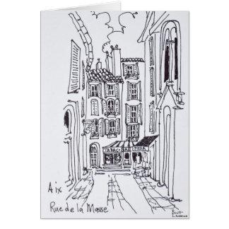 Rue de la Masse | Aix en Provence, France Card