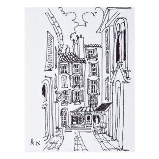 Rue de la Masse | Aix en Provence, France Postcard