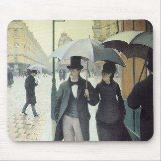 Rue de Paris, Wet Weather Mousepad