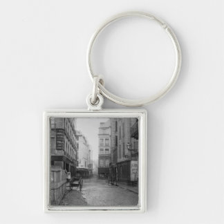 Rue des Bourdonnais  Paris 1858-78 Key Chain