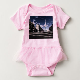 Rue des Moulins in Geneva Baby Bodysuit