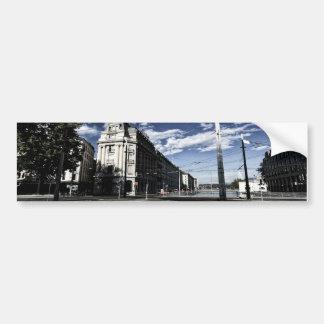 Rue des Moulins in Geneva Bumper Sticker