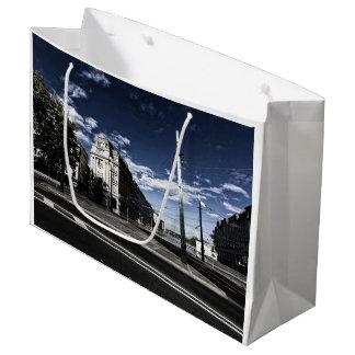 Rue des Moulins in Geneva Large Gift Bag