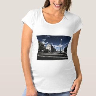 Rue des Moulins in Geneva Maternity T-Shirt